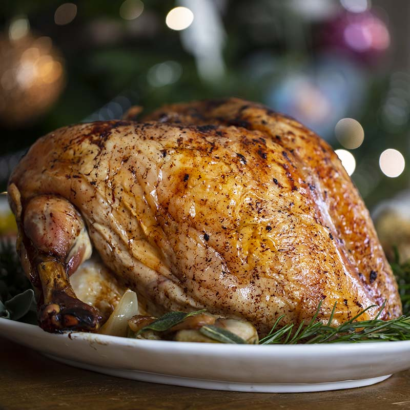 Barn Reared Turkey Crown UK Delivery