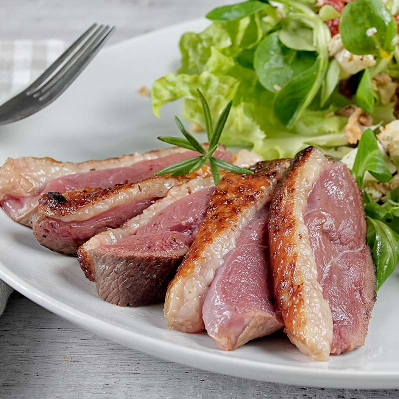 Hot Smoked Duck Fillets UK Delivery