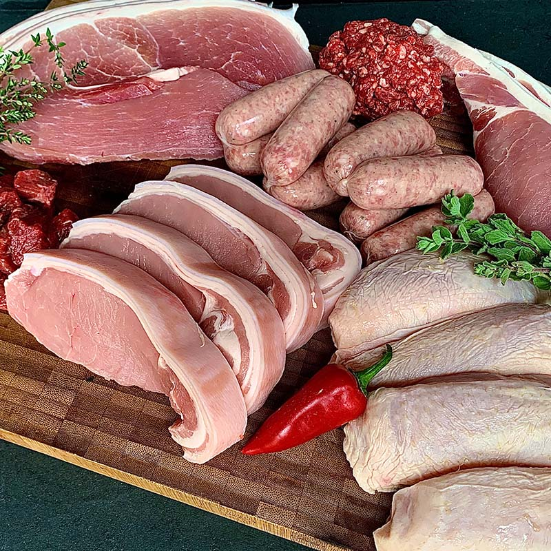 Weekend Meat Box Delivery UK