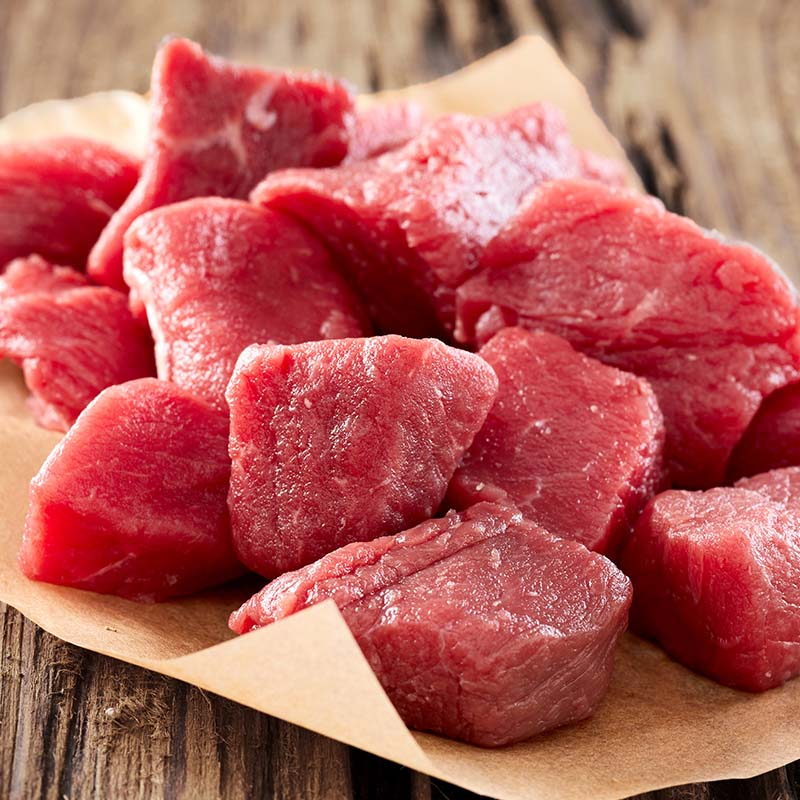 Diced Frozen Beef UK Delivery