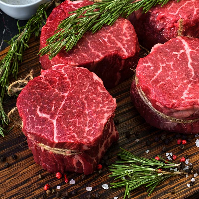 Fillet Steaks UK Delivery