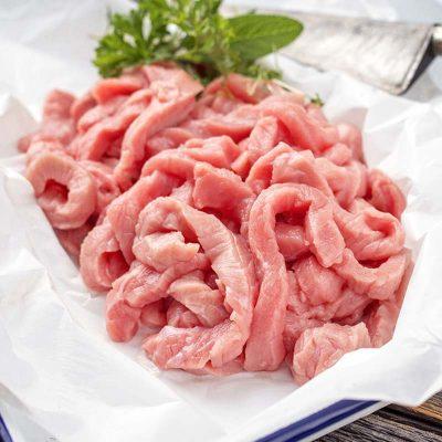 Pork Strips UK Delivery