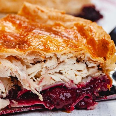 Turkey and Cranberry Pie UK Delivery